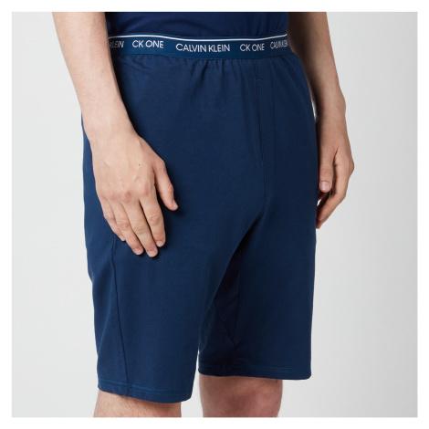 Calvin Klein Men's CK One Lounge Shorts - Lake Crest Blue