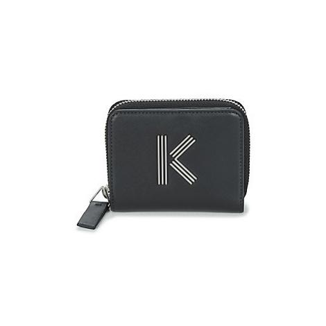 Kenzo K BAG SMALL ZIPWALLET women's Purse wallet in Black