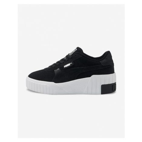 Puma Cali Wedge Soft Wild Sneakers Black