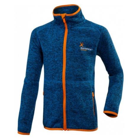 Klimatex SEM blue - Kids' functional sweatshirt