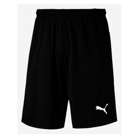 Puma Liga Training Shorts Black Colorful