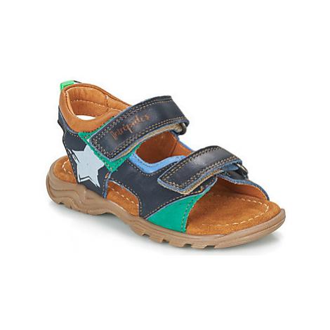 Babybotte KLAFOUTI boys's Children's Sandals in Blue