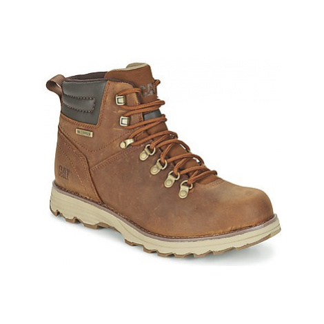 Caterpillar SIRE WP men's Mid Boots in Brown