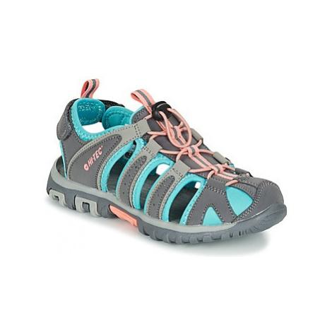 Hi-Tec SHORE KID girls's Children's Sandals in Grey