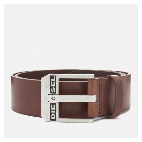 Diesel Men's Bluestar Leather Belt - Brown - W40/100cm