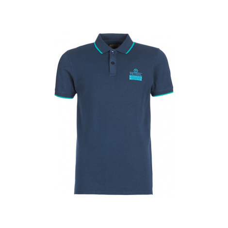 Petrol Industries LOPO men's Polo shirt in Blue