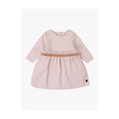 Carrément Beau Milan Metallic Belt Baby Dress