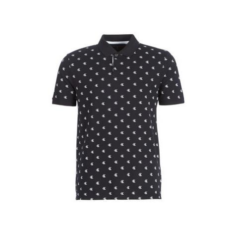 Calvin Klein Jeans AOP MONOGRAM SS POLO men's Polo shirt in Black