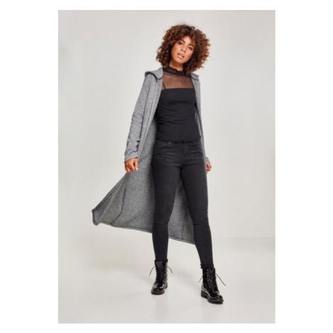 Urban Classics Ladies Terry Long Cardigan blk/wht