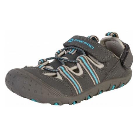 ALPINE PRO FOLEY blue - Children's summer shoes