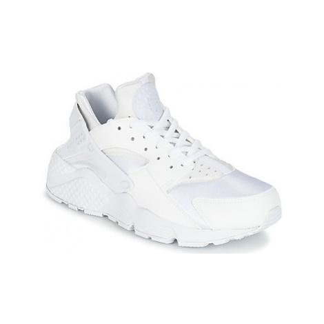 Nike AIR HUARACHE RUN W women's Shoes (Trainers) in White