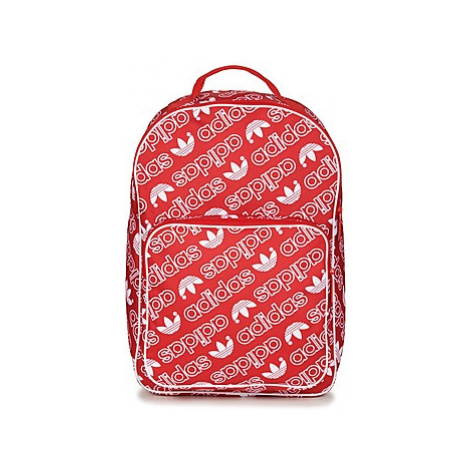 Adidas BP CLASS AC GR men's Backpack in Red