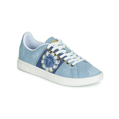 Desigual SHOES_COSMIC_EXOTIC DENIM women's Shoes (Trainers) in Blue