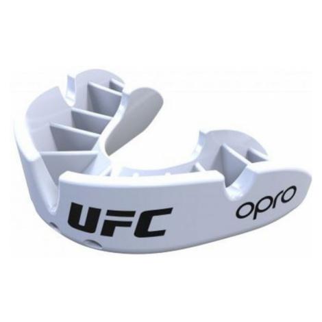 Opro UFC BRONZE white - Mouthguard