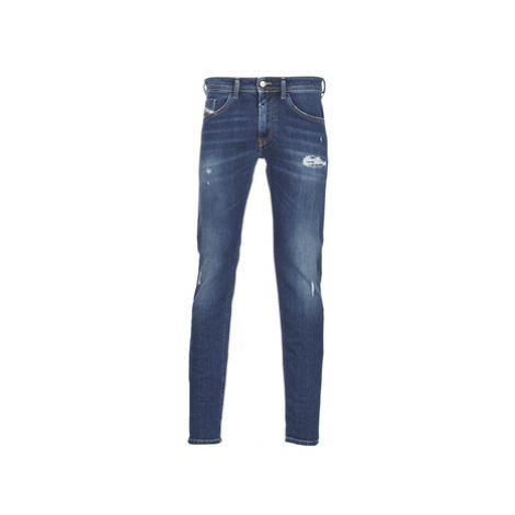 Diesel THOMMER men's Skinny Jeans in Blue
