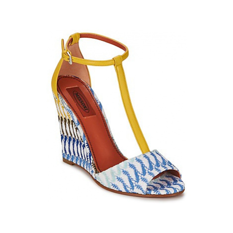 Missoni XM003 women's Sandals in Multicolour