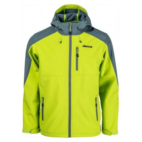 Crossroad PALMER green - Men's softshell jacket