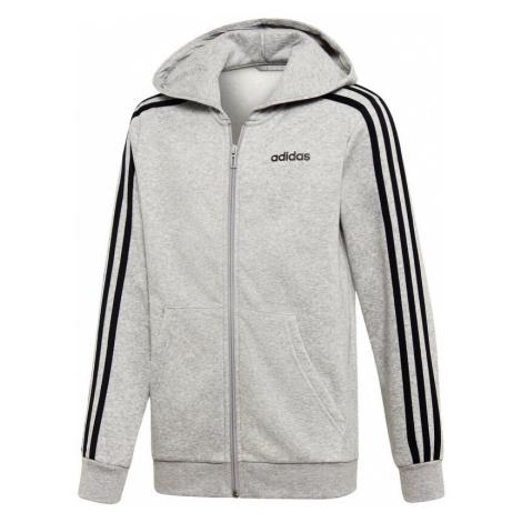 Essentials 3-Stripes Zip Hoodie Men Adidas