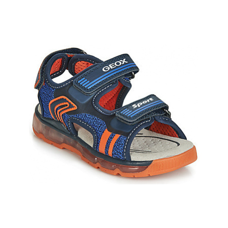 Geox J SANDAL ANDROID BOY boys's Children's Sandals in Blue