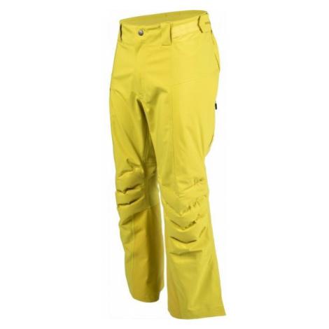 Bergans HEMSEDAL HYBRID PNT yellow - Men's ski pants