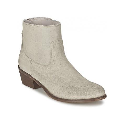 Meline ROSELINE women's Mid Boots in Beige
