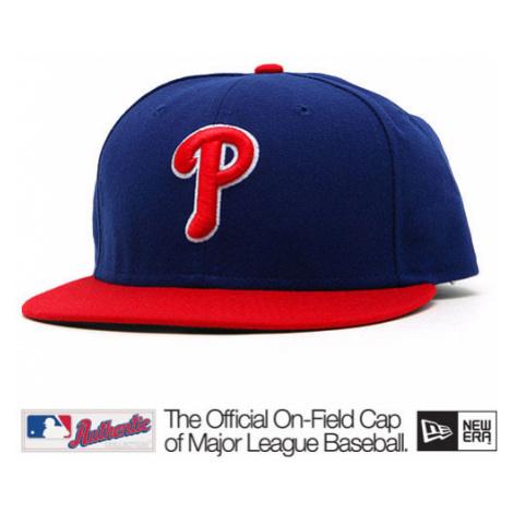 New Era Authentic Philadelphia Phillies Home Alternate Cap Red Blue