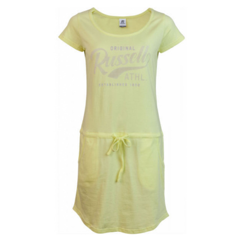 Russell Athletic WOMAN YELLOW DRESS yellow - Women's Dress - Russell Athletic