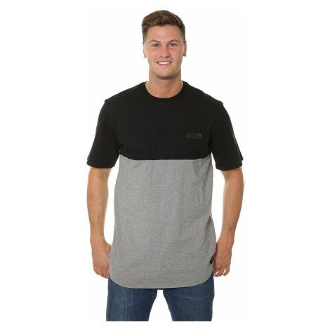 T-Shirt Supra Block Crew - Black/Heather - men´s