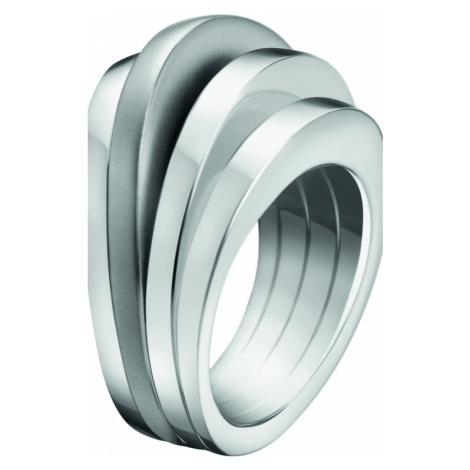 Ladies Calvin Klein Stainless Steel Size N Breathe Ring KJ3DMR080107