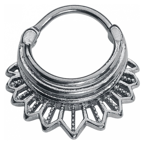Wildcat Tigerlily Septum Clicker Ring silver coloured
