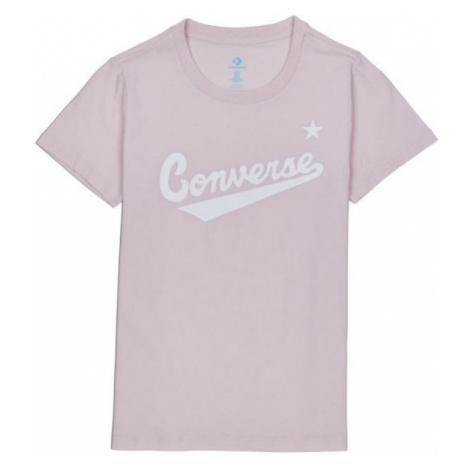 Converse WOMENS NOVA CENTER FRONT LOGO TEE pink - Women's T-shirt