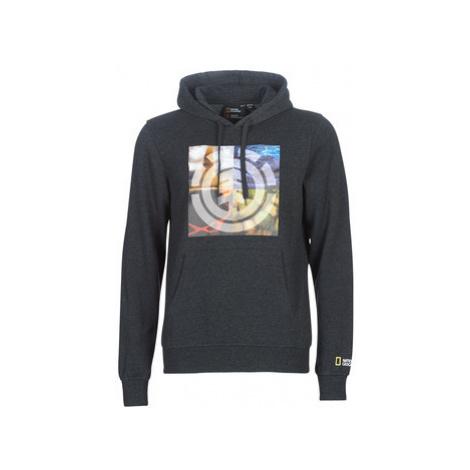 Element QUADRANT SEASONS HOOD men's Sweatshirt in Grey