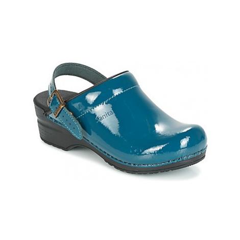 Sanita FREYA women's Clogs (Shoes) in Blue