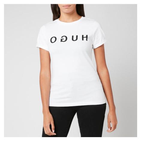 HUGO Women's The Hugo T-Shirt - White Hugo Boss