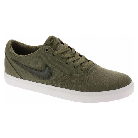 shoes Nike SB Check Solar Canvas - Medium Olive/Sequoia/Medium Olive/White - men´s