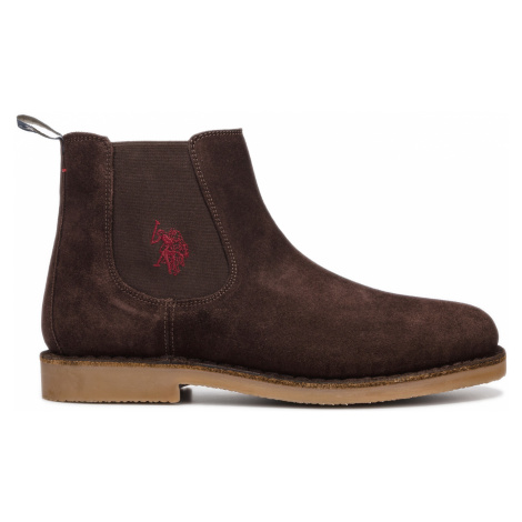 U.S. Polo Assn Faust7 Ankle boots Brown