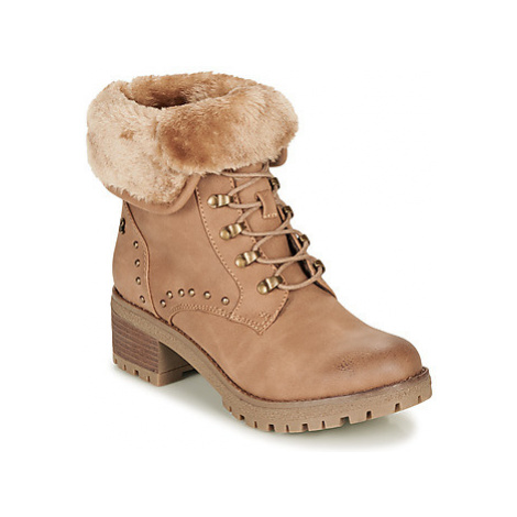 Refresh 69188-CAMEL women's Low Ankle Boots in Brown
