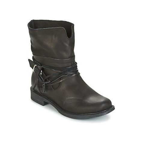 Sweet Lemon PYOBA women's Mid Boots in Black