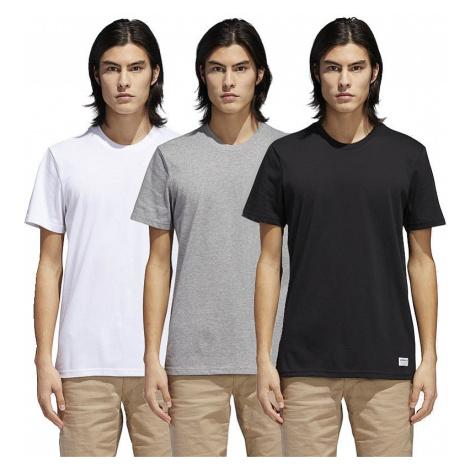 T-Shirt adidas Originals 3 Pack - Core Heather/White/Black