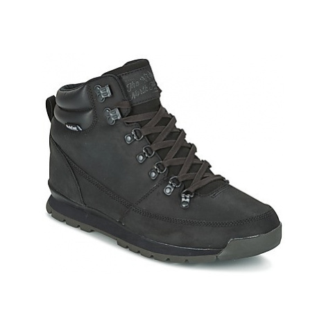 The North Face BACK-TO-BERKELEY REDUX LEATHER men's Mid Boots in Black