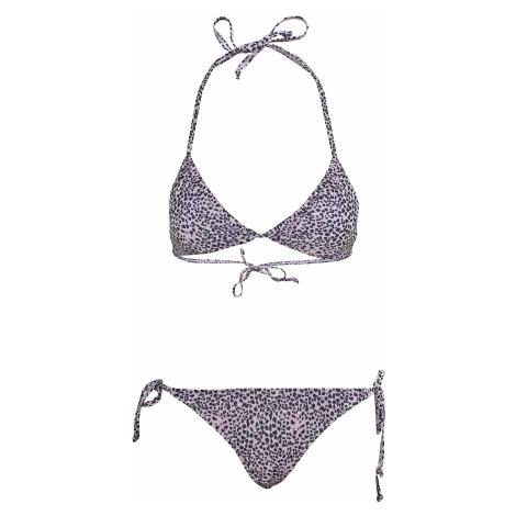 Urban Classics - Ladies Animal Bikini - Bikini - pink-black