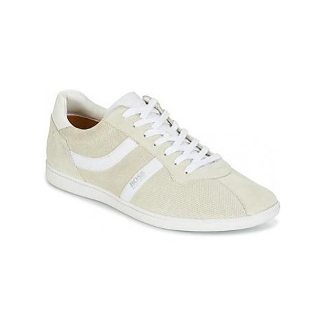 BOSS RUMBA TENN SDPF men's Shoes (Trainers) in Beige Hugo Boss