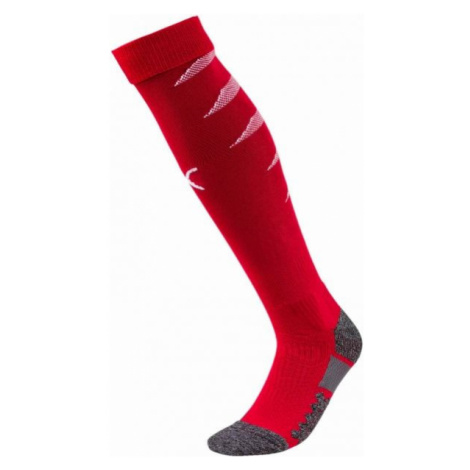 Puma TEAM FINAL SOCKS red - Men's football socks