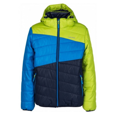 Lewro KALYF dark blue - Kids' quilted jacket