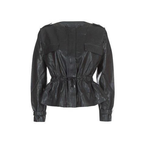 Vero Moda VMSIMONA women's Leather jacket in Black