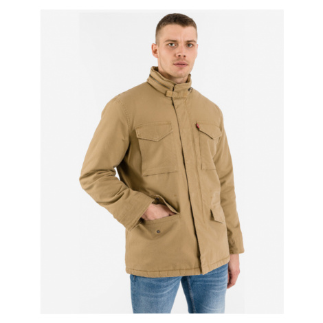 Levi's® Sherpa Field Coat Brown Beige Levi´s