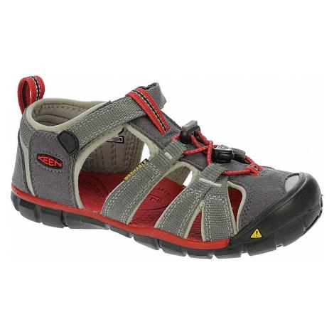 shoes Keen Seacamp II CNX - Magnet/Racing Red