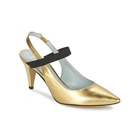 Marc Jacobs VALERY women's Court Shoes in Gold