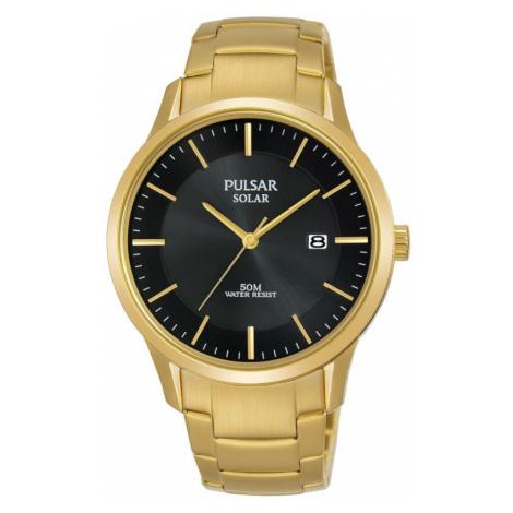 Unisex Pulsar Solar Powered Watch