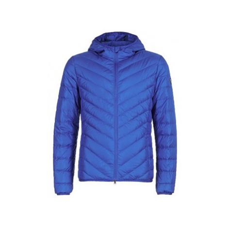 Emporio Armani EA7 TRAIN CORE SHIELD 8NPB09 men's Jacket in Blue
